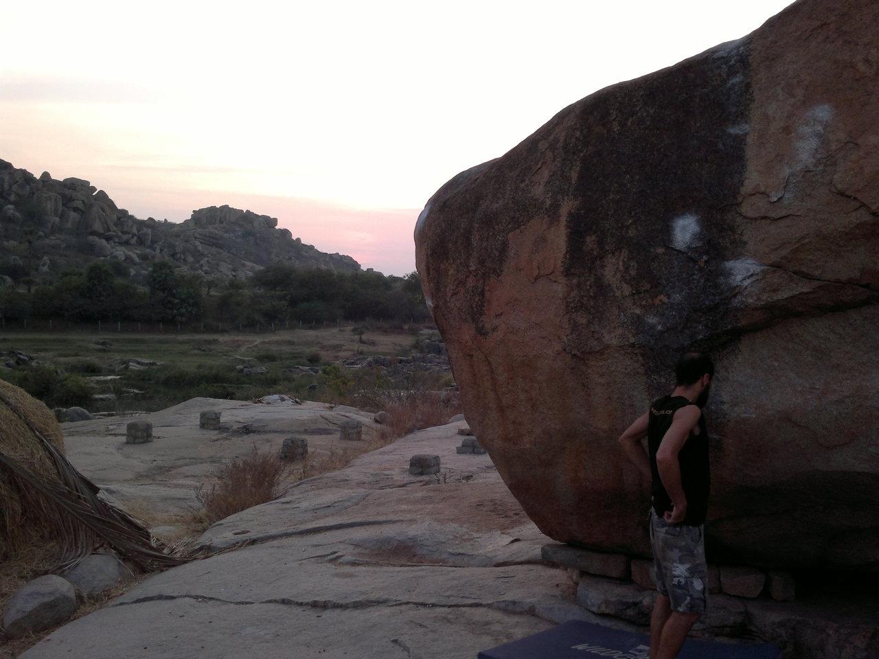 Carlos an einem Babacafe Boulder