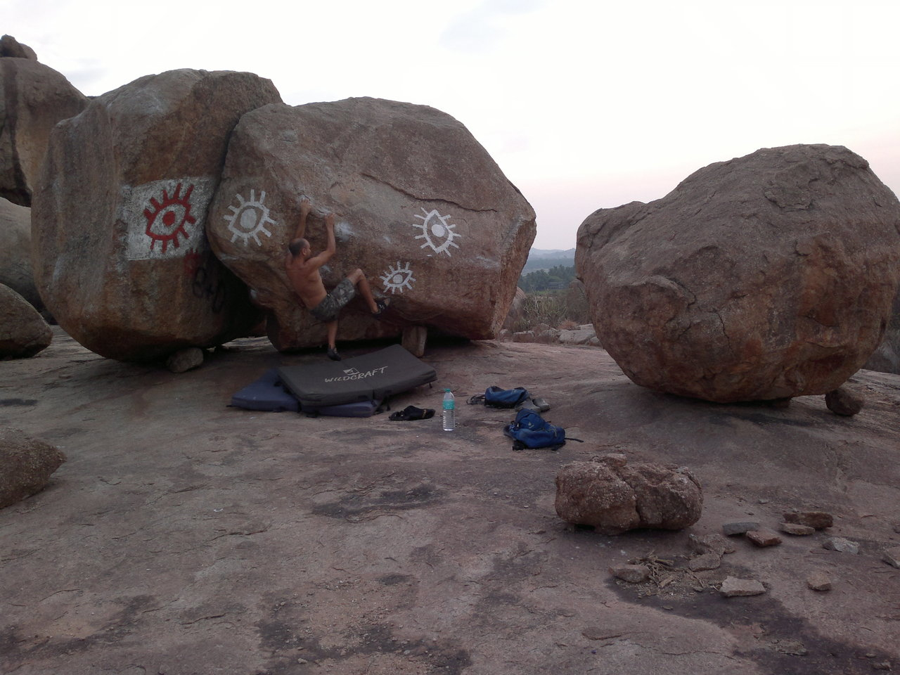 TV-Boulder, 6a, possible!