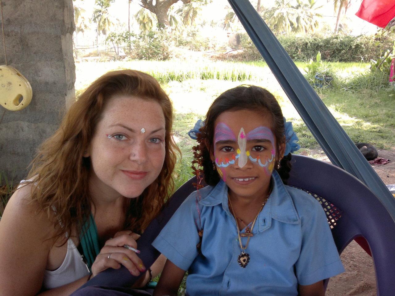 Lisa und Karishma