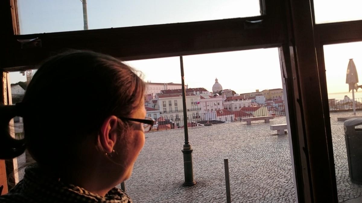 Lissabon bei Sonnenaufgang